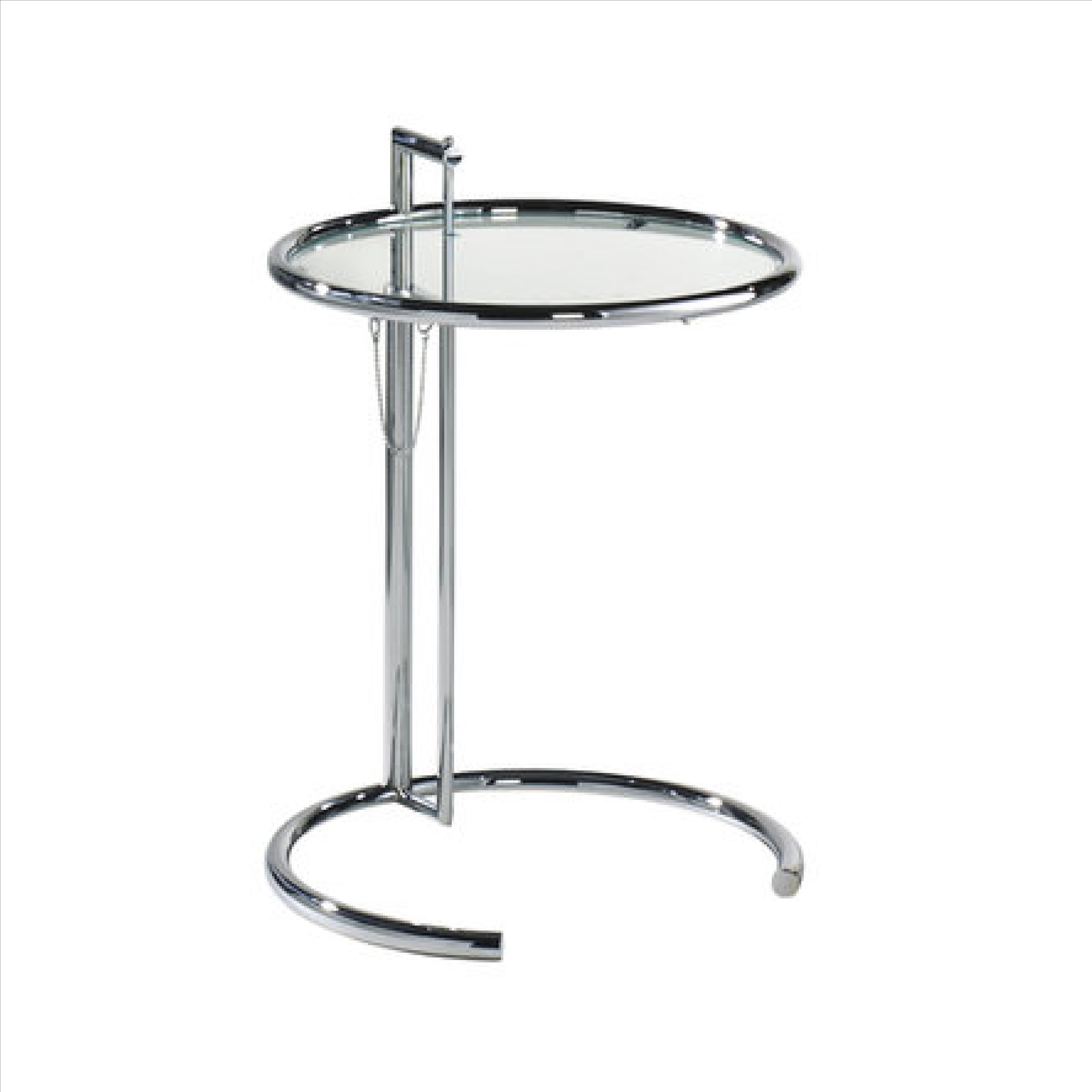classicon adjustable table e 1027 eileen gray 1927 luxor classics. Black Bedroom Furniture Sets. Home Design Ideas