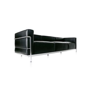 CASSINA Le Corbusier LC3 Dreisitzer