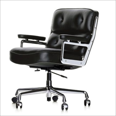 VITRA Lobby Chair - Schwarz