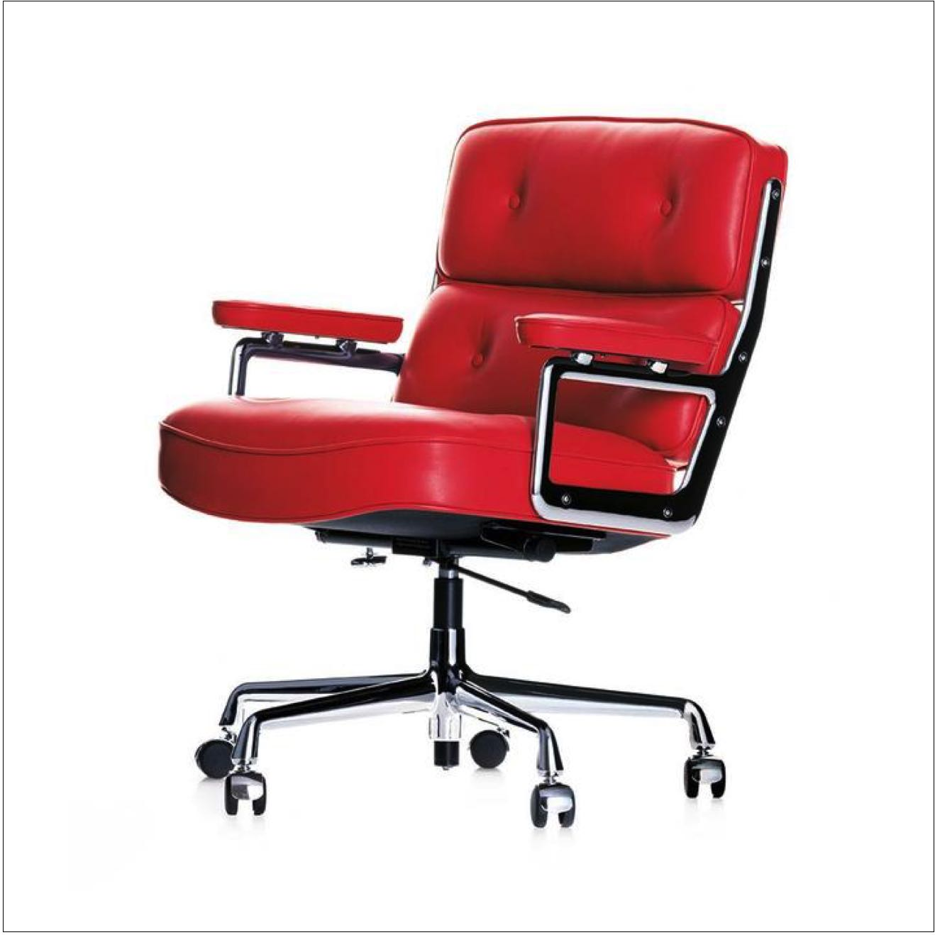 VITRA Lobby Chair – Rot