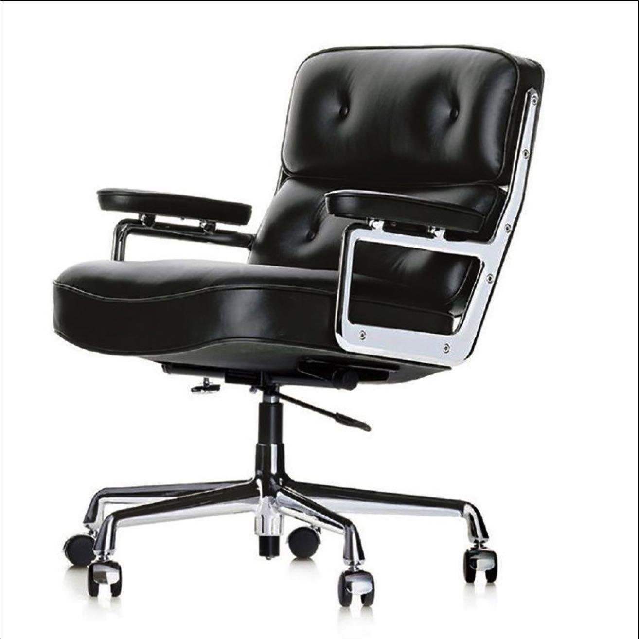 VITRA Lobby Chair – Schwarz
